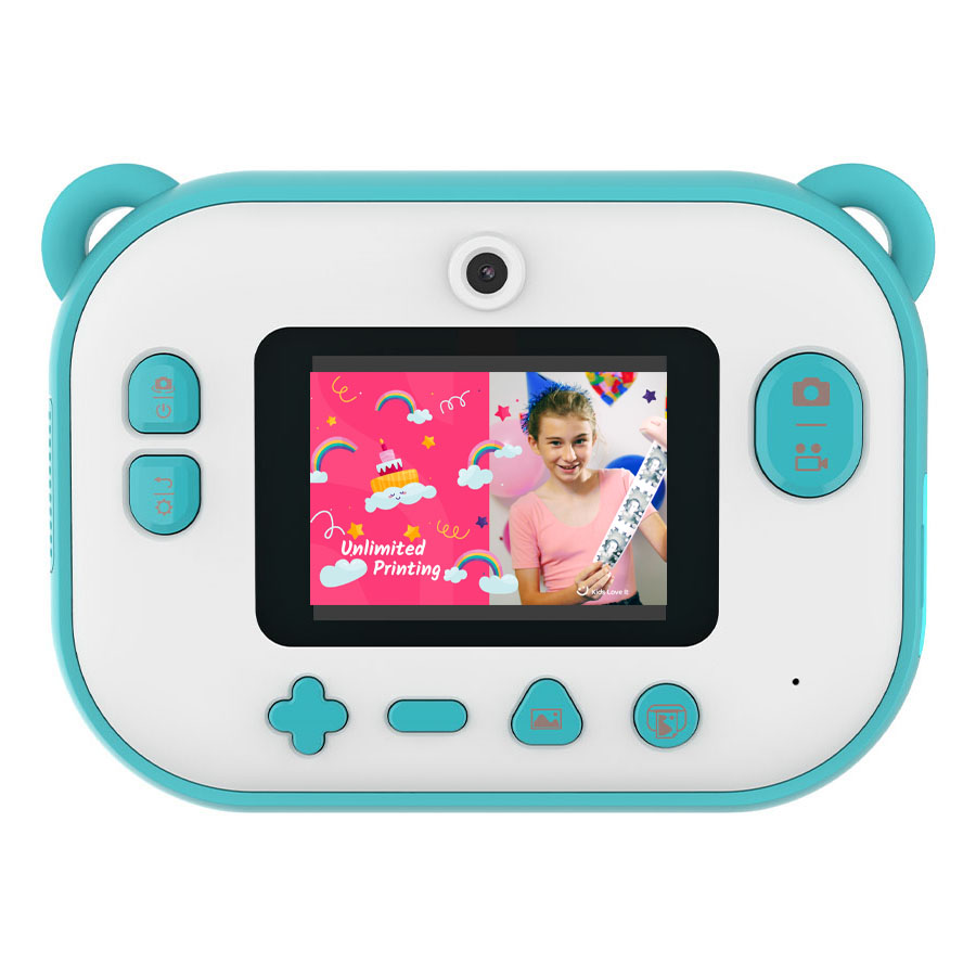 myFirst Camera Insta 2 Blue - best instant print camera for kids with selfie lens